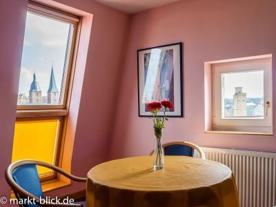 Wohnzimmer mit Ausblick