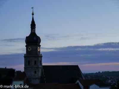 St. Bartholomaikirche am Morgen