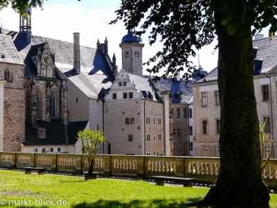 Agnesgarten im Schlosshof