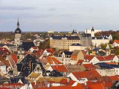 Aussicht vom Nikolaiturm über Altenburg