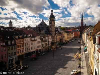 Blick auf den Altenburger Markt
