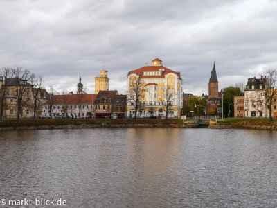 Blick zur altstadt vom Großen Teich