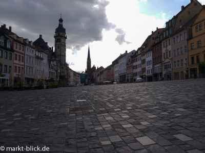 Markt mir Rathaus und Brüderkirche