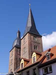 Die Roten Spitzen - Wahrzeichen Altenburgs
