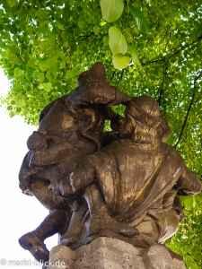 Die sich raufenden Wenzel des Skatbrunnens