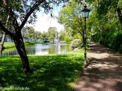 Promenade am Pauritzer Teich