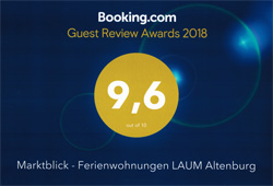 Unsere Ferienwohnung auf Booking.com